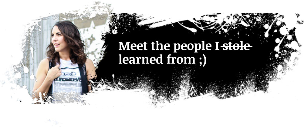 Meet the people I learned from ;-)